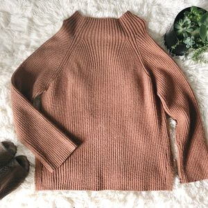 A New Day Brick Red/Brown Oversized Sweater